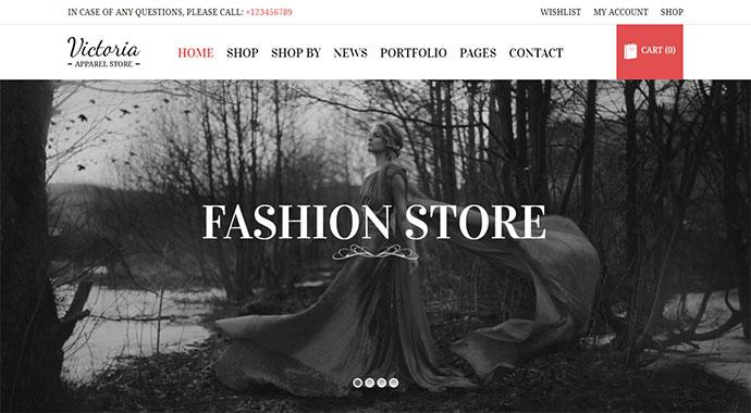 Victoria - Fashion WooCommerce WordPress Theme