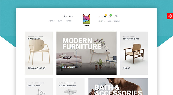 Sink - Minimal WooCommerce WordPress Theme