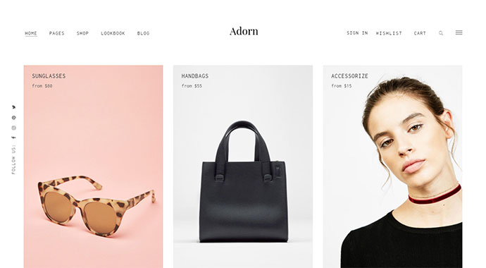 Adorn - A Minimal and Stylish WooCommerce Theme
