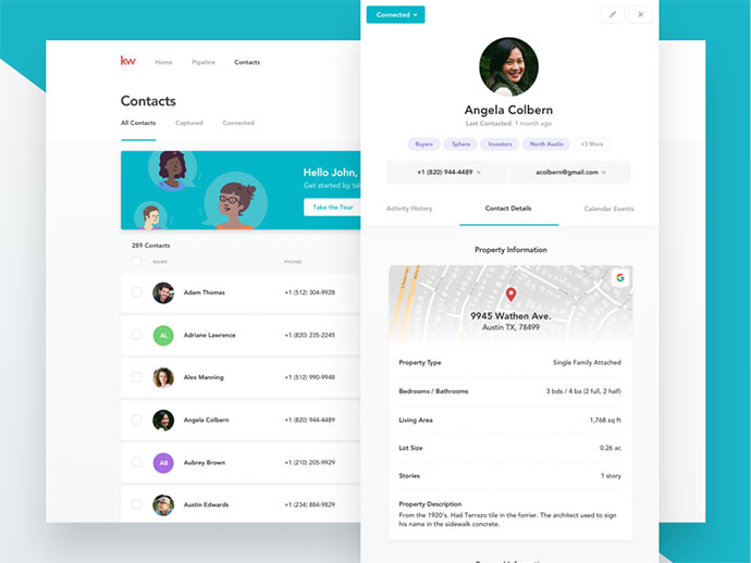 CRM - Contact Profiles