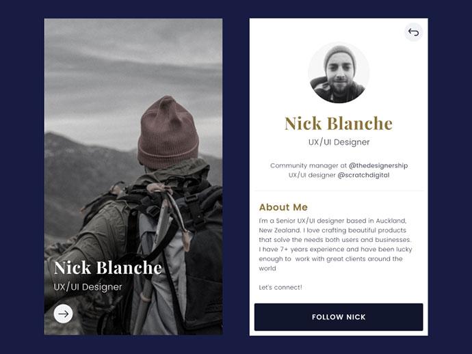 Daily Design - Profile