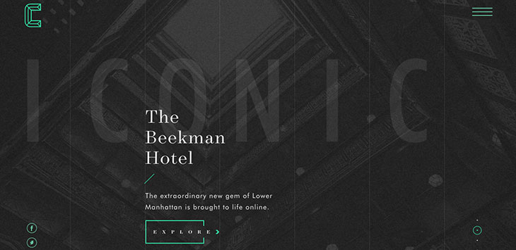 20 Web Designs Using Visible Grid Lines