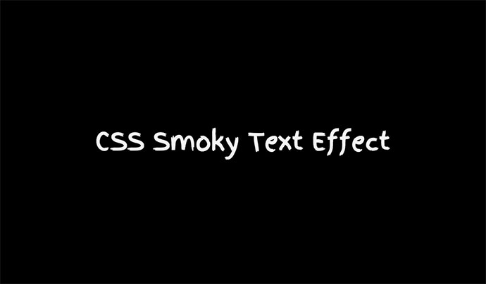 Smoky Text