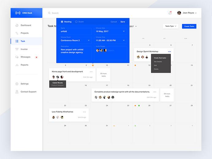 Tasks - Edit Meeting