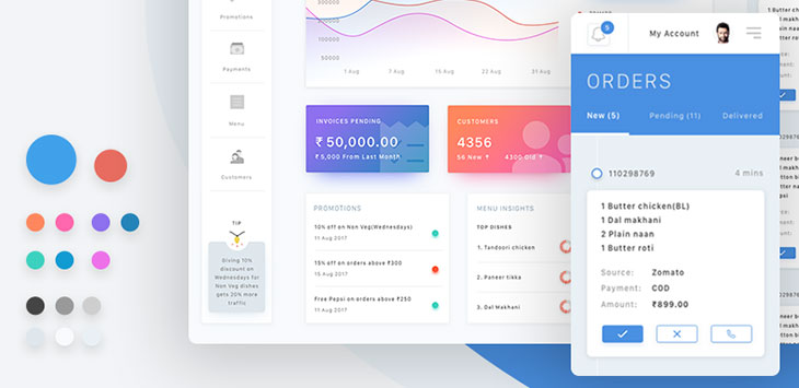 40 Great Dashboard UI Designs 2017