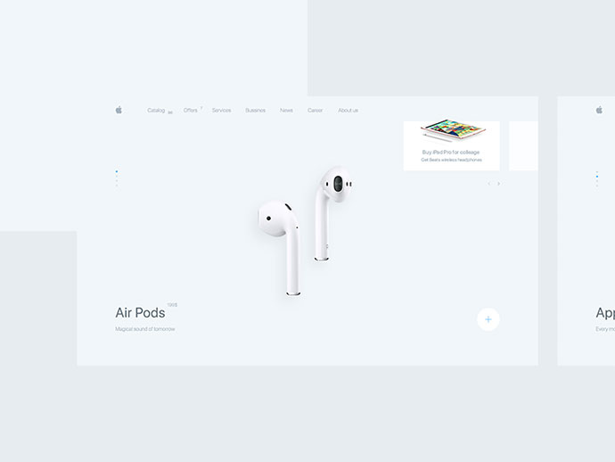 apple premium reseller concept