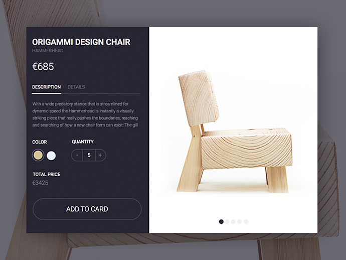eCommerce Product Card