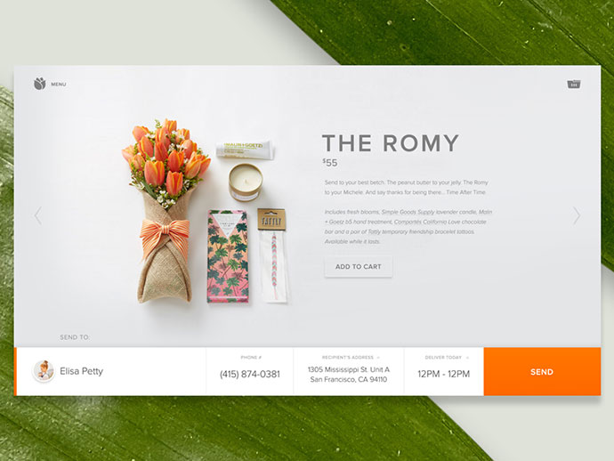 Bloomthat.com —Product Page