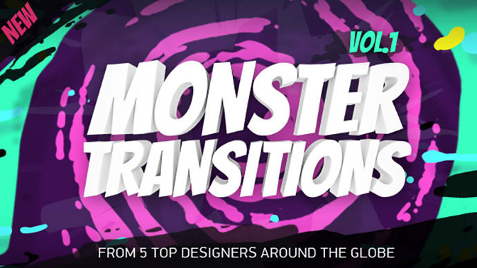 Monster Transitions SVG