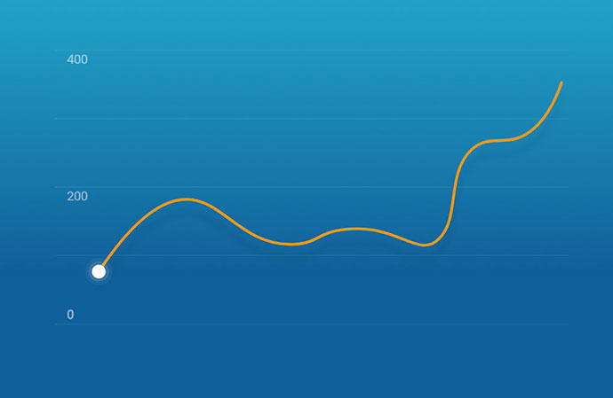 Interactive SVG Info Graph
