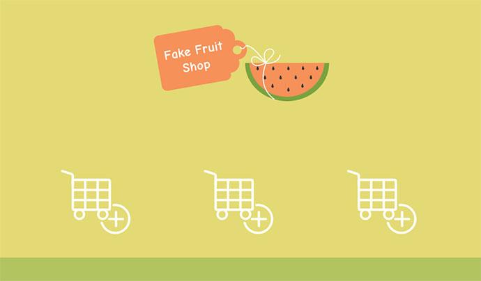 Animated Shopping Cart Icons