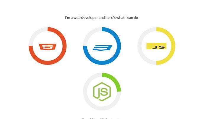 CSS/SVG Animated Circles