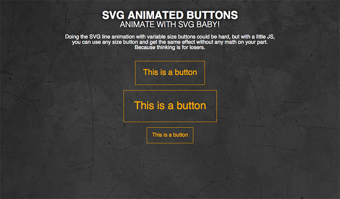 SVG Button Animation