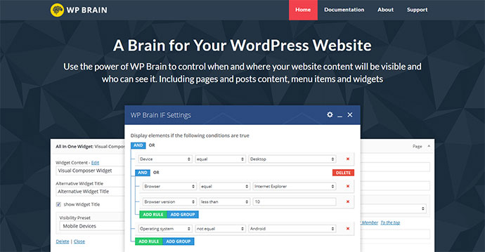 WP Brain - A Brain for Your WordPress WebSite