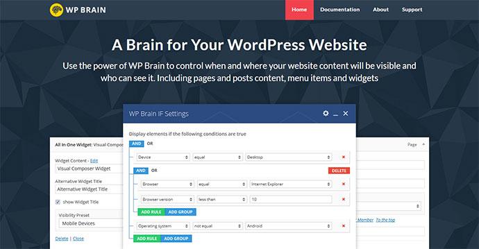 WP Brain - A Brain for Your WordPress WebSite