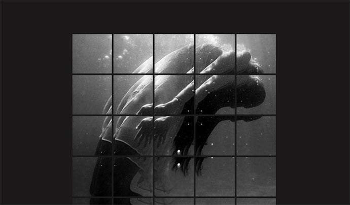 Split Image | Hover Effect