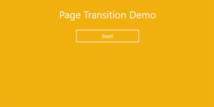Simple Page Transition