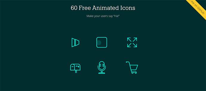 60 Free Animated Icons