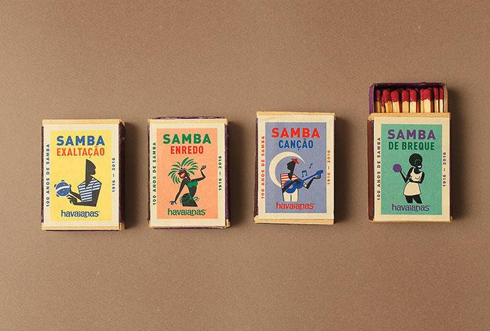Havaianas 100 Years of Samba