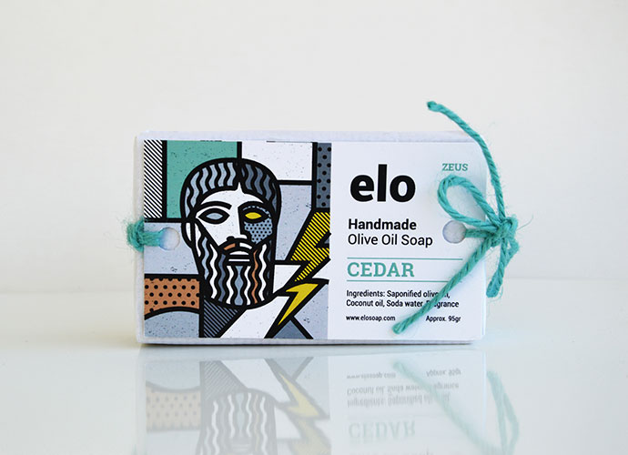 Elo Soaps | Greek Gods edition