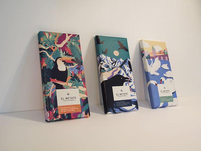 El Metate - Chocolate Packaging