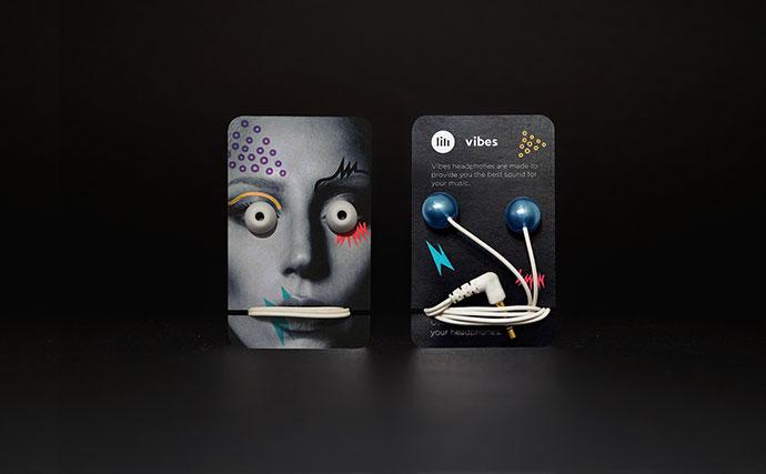 Vibes | Earphones packaging