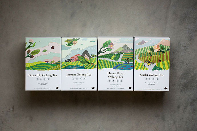 [FongCha] Tea Packaging