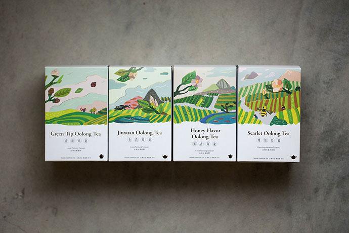 [FongCha] Tea Packaging