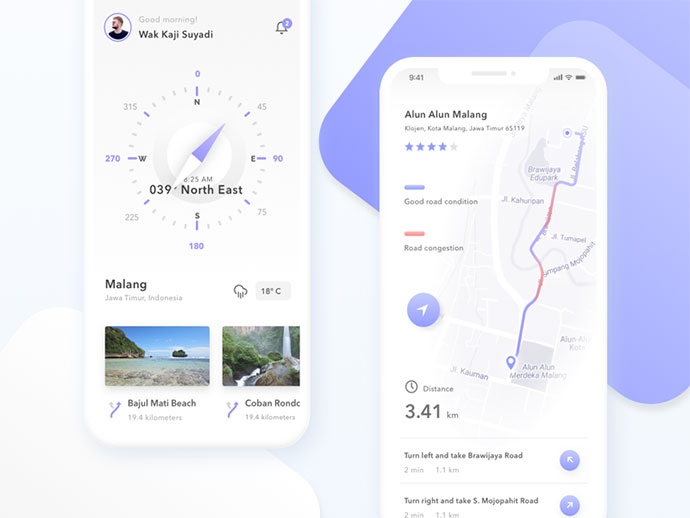 Backapacker & Traveler Exploration App