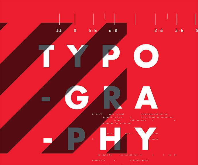 Futur Typographic Posters