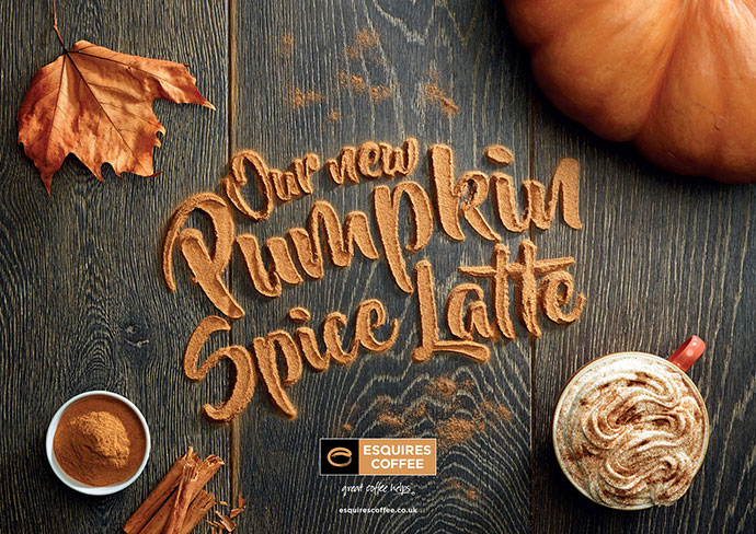 Esquires` Pumpkin Spice Latte