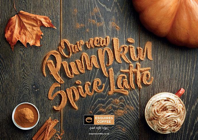 Esquires` Pumpkin Spice Latte