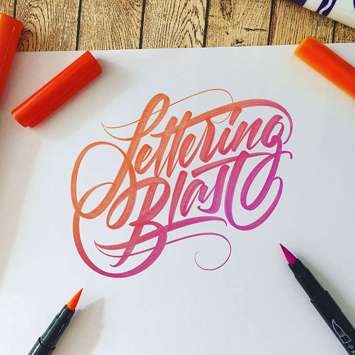 LETTERING BLAST | My best works in 2016.