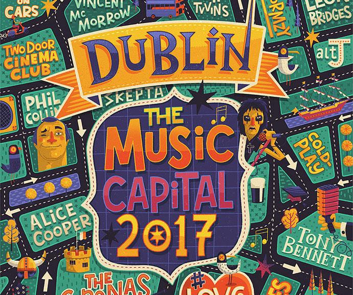 Dublin - Music Capital 2017