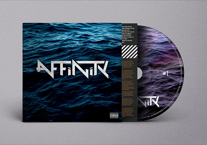 Affinity Rock Band Branding