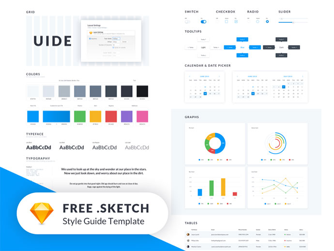UIDE Kit (Style Guide Template) - FREEBIE ??