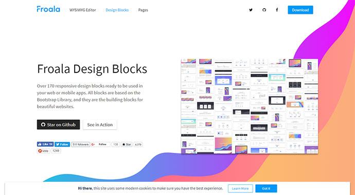 Froala Design Blocks