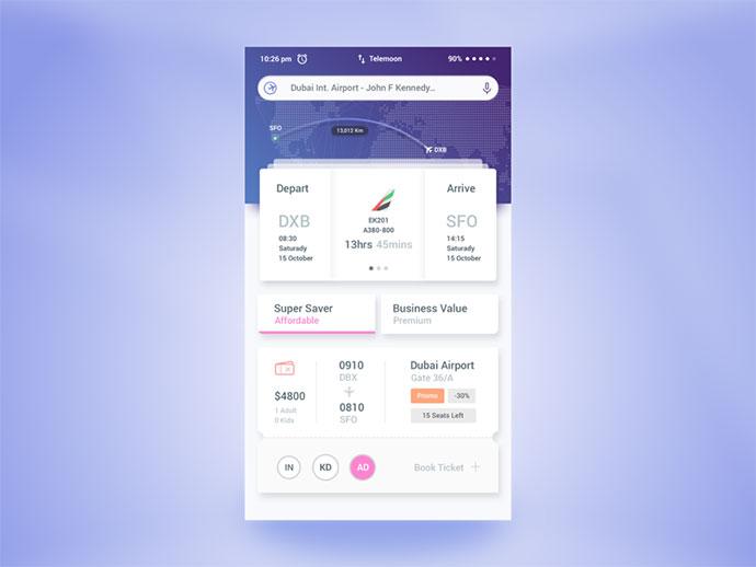 Air Ticket Booking App
