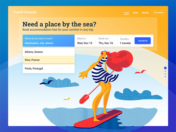 Booking Service UI