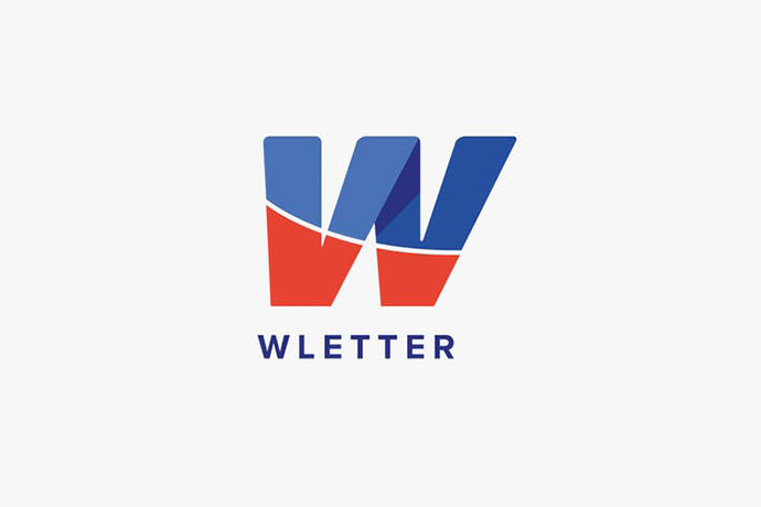 W Letter Logo Template