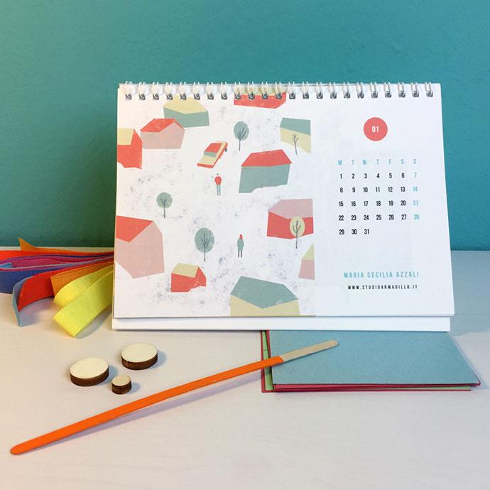 Studio Armadillo 2018 Calendar