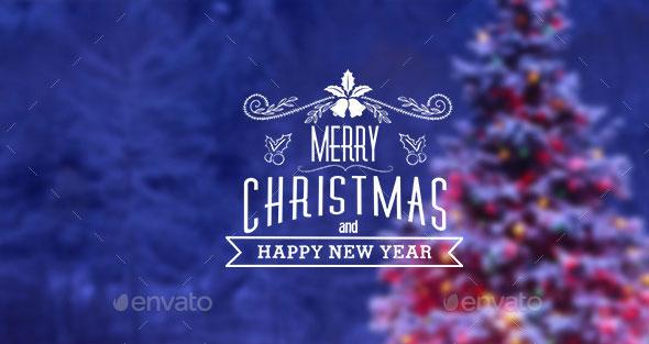 Christmas & New Year Sticker