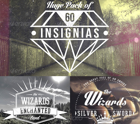Insignias | Badges | Logo Templates Bundle
