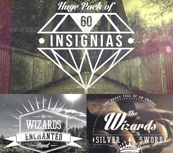 Insignias | Badges | Logo Templates Bundle