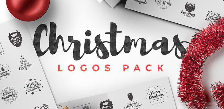 25 awesome christmas badge  u0026 logo design templates
