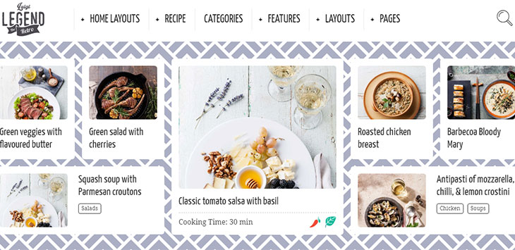 20 Mouthwatering WordPress Themes To Share Culinary Ideas