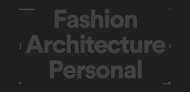 43 Examples Of Using Big & Daring Fonts In Web Design