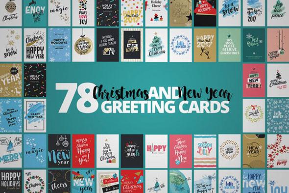 Christmas Cards Mega Set