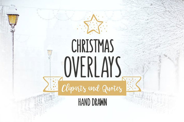 Christmas Overlays – Vector Set