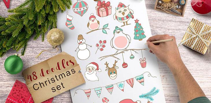 25 Fantastic Christmas Design Templates 2017